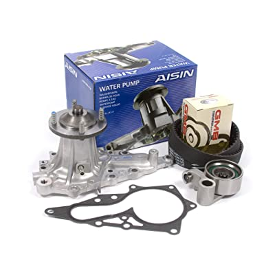 Fits 92-00 Lexus Toyota Turbo 3.0 DOHC 24V 2JZGE 2JZGTE Timing Belt Kit AISIN Water Pump: Automotive