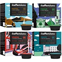 A Modo Mio 100 compatible Lavazza Capsule - Il Caffè Italiano - Kit Tasting Ronde van Italië met diverse intensiteiten