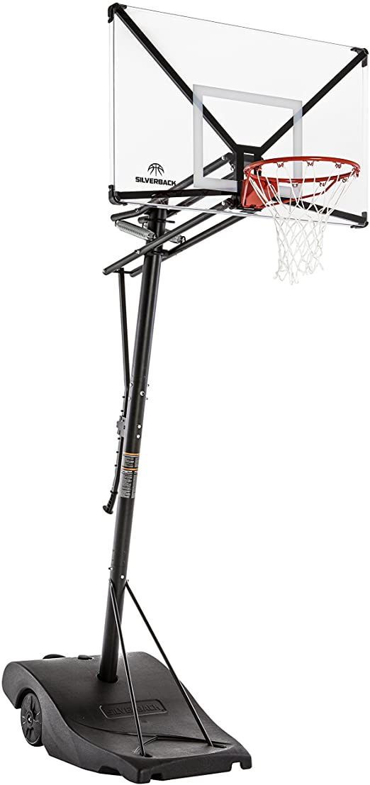 Silverback NXT Portable Height-Adjustable Basketball