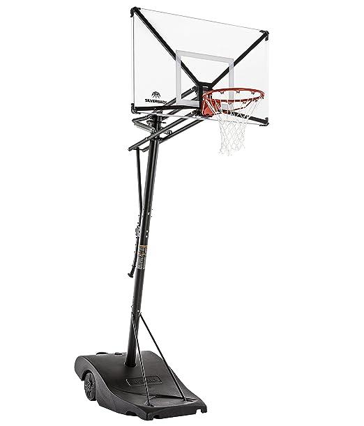 "Silverback NXT Portable Basketball Hoop (54"" Backboard)"
