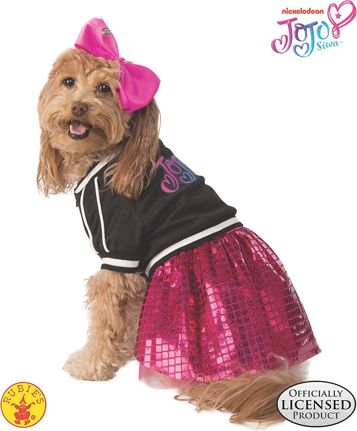 Amazon Com Rubie S Jojo Siwa Pet Costume X Large Pet Supplies