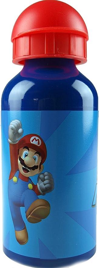Premium TRINKFLASCHE Aluminium SUPER Mario BPA FREI 710 ML