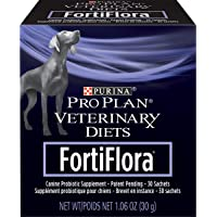 Purina Pro Plan Veterinary Diets Probiotics Dog Supplement, Fortiflora Canine Nutritional Supplement - 30 ct. Boxes