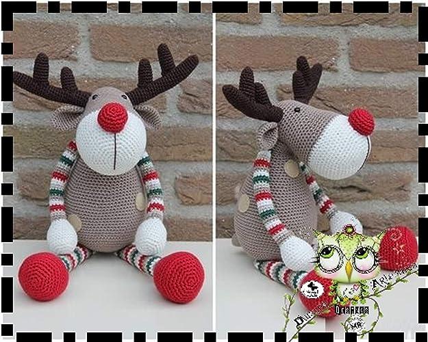 Cómo hacer adorables amigurumis para navidad - Amigurumi navideño ... | 500x625