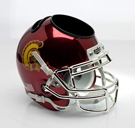 Amazon.com   Schutt NCAA USC Trojans Football Helmet Desk Caddy ... cd26631aa