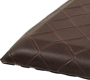 AmazonBasics Premium Anti-Fatigue Standing Mat - 20x36-Inches, Dark Brown, 5-Pack