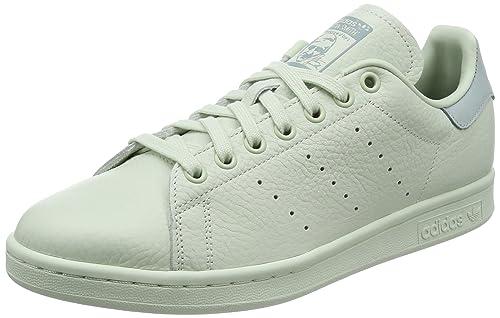 info for 8a24a ba603 adidas Stan Smith, Scarpe da Ginnastica Basse Uomo, Verde (Linen Green linen