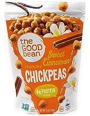 The Good Bean Sweet Cinnamon Chickpea Snacks 170 Gram