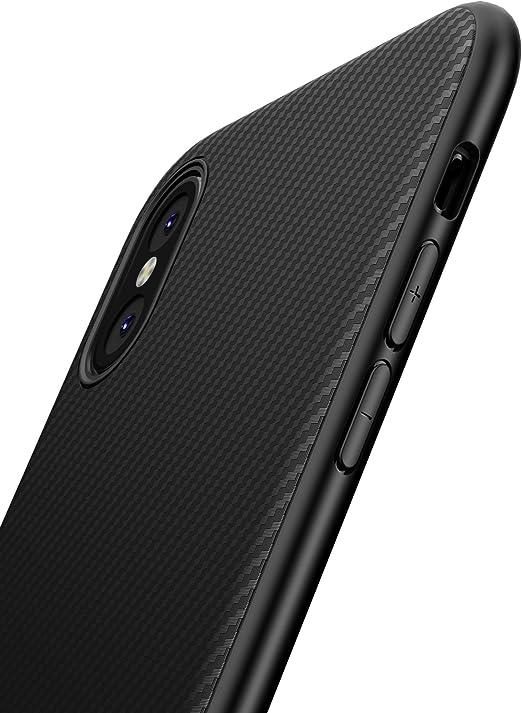 XINYUNEW Funda Huawei P20 Pro,[Textura Fibra de Carbono] Carcasa ...