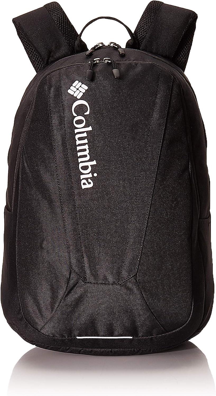 Columbia Unisex Tamolitch II Daypack Laptop School Student Backpack (Black/black/white)