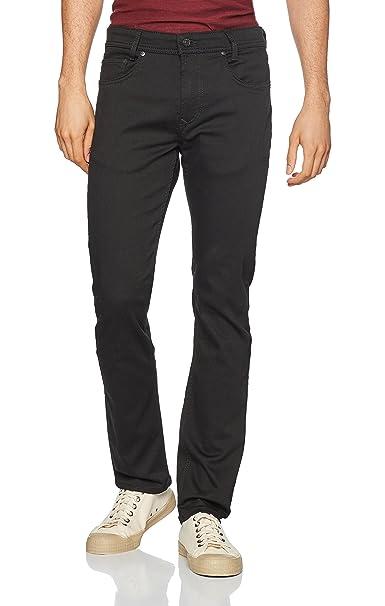 Macflexx, Pantalones para Hombre, Negro (Stay Black Black H900), 38W x 36L MAC
