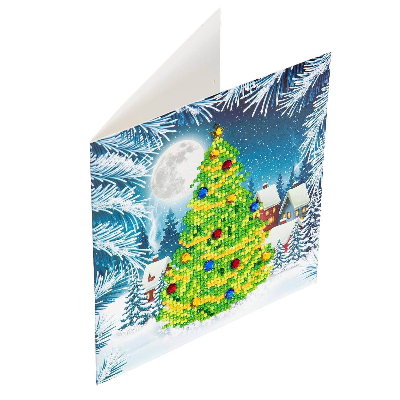 Craft Buddy Crystal Card Making Kit 5d Diamond Painting Greeting