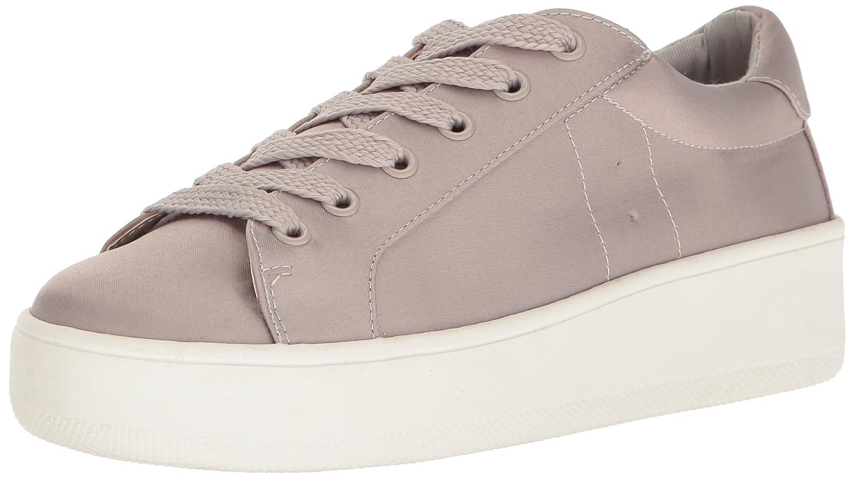 Steve Madden Women's Bertie-s Fashion Sneaker B01N1YUVLJ 7 B(M) US|Grey Satin