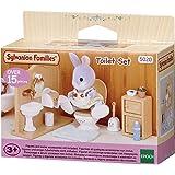SYLVANIAN FAMILIES Toilet Set Mini muñecas y Accesorios Epoch para Imaginar 3563