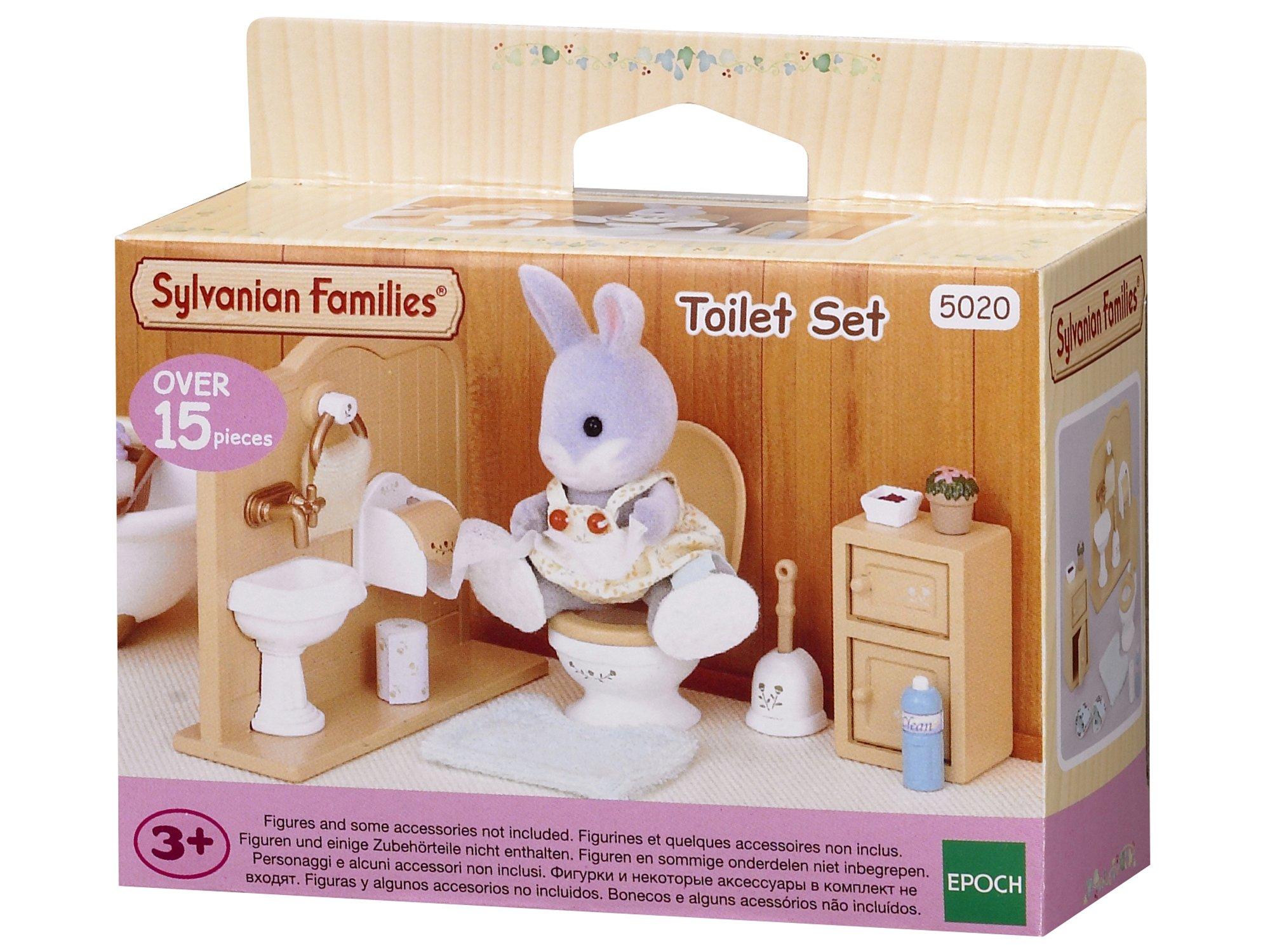 Sylvanian Families Toilet Set Mini muñecas y Accesorios, (Epoch 3563) product image