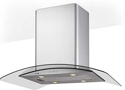 Fagor 9CFV92IXA - Campana decorativa 90cm acero inoxidable clase de eficiencia energetic: Amazon.es: Hogar