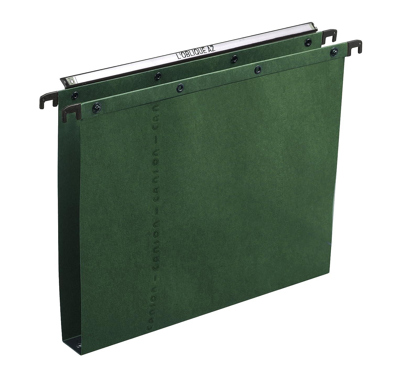 Elba Ultimate colgantes, A20 - Paquete de 25 carpetas colgantes, Ultimate verde 6bad7a