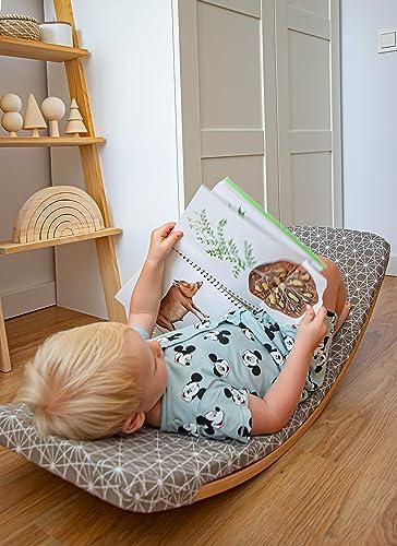 Tabla curva infantil con colchón. Juguetes Educativos. Aprendizaje para niños. Fabricado en España.: Amazon.es: Handmade