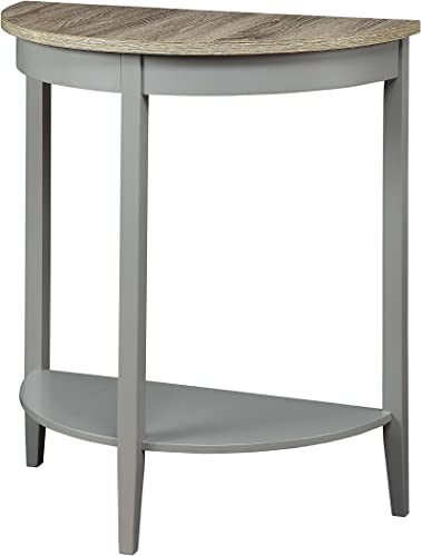 ACME Justino Console Table – – Gray Oak Gray