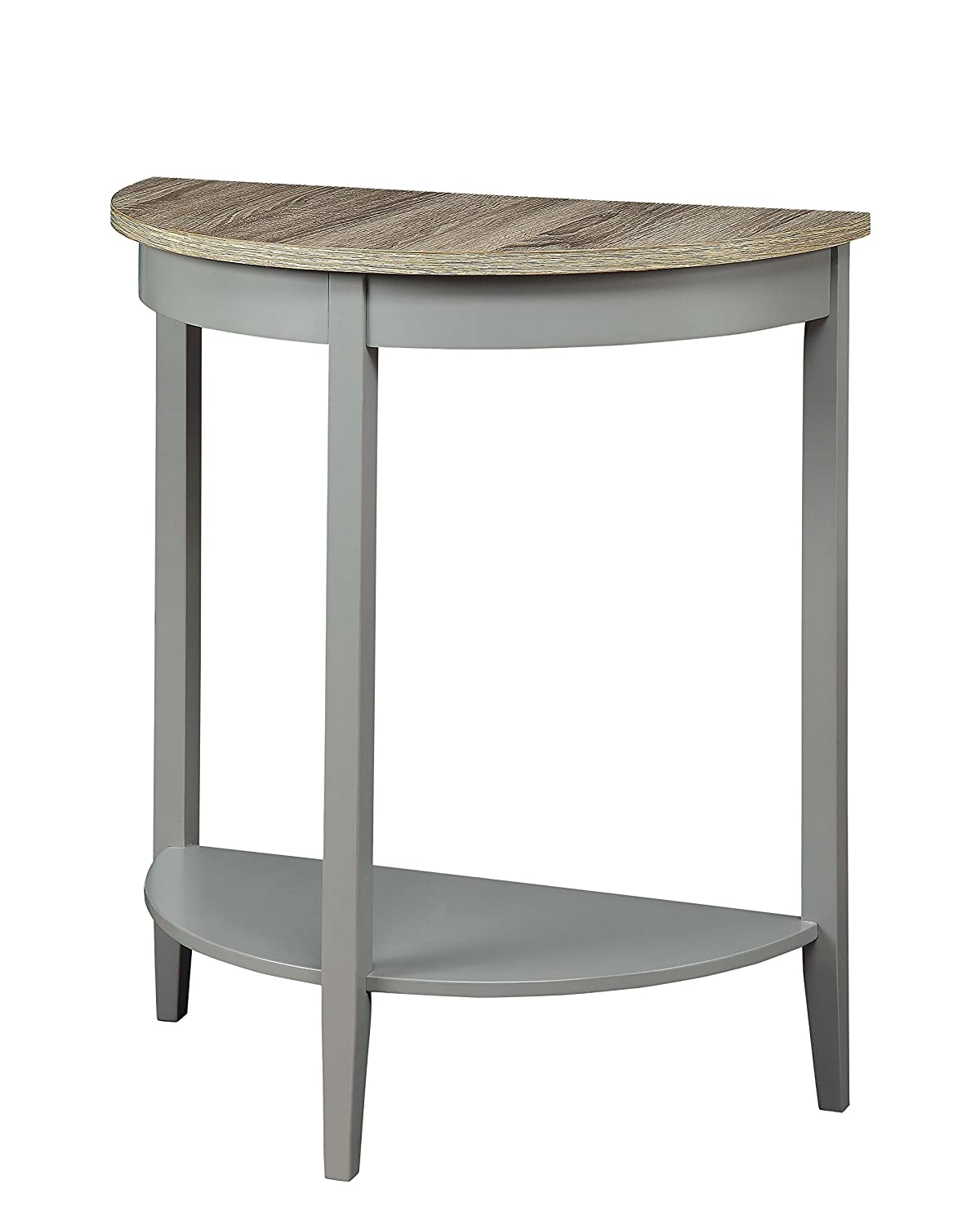 ACME Furniture Joey Gray Oak and Gray Console Table, 1 Size