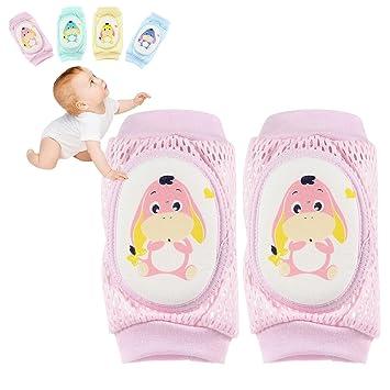 Tacobear 5 Paar Baby Knieschoner Krabbelschoner Krabbelhilfe anti-Rutsch Verstellbarer Elastische Einhorn Kniebandage Kniesch/ützer f/ür Kinder