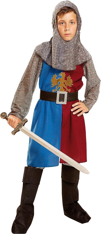 My Other Me Me-201160 Disfraz de caballero medieval, color azul y ...