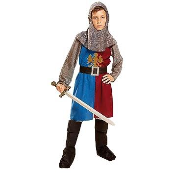 My Other Me Me-201159 Disfraz de caballero medieval, Color azul y ...