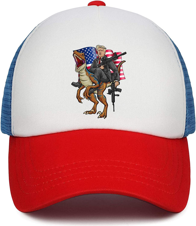 Baseball Caps for Men Summer Hats Dad Hats JDHASA Trump-2020-American-flag-face