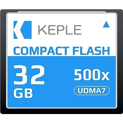 CF 32 GB Tarjeta de Memoria Compact Flash 500x Velocidad 75 MB/s ...