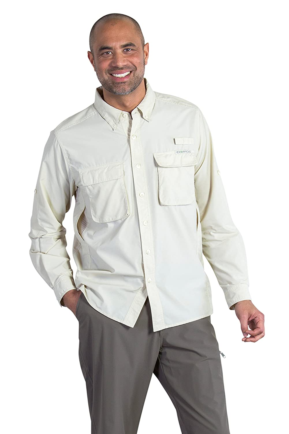 ExOfficio Herren Air Strip Long Sleeve Shirt