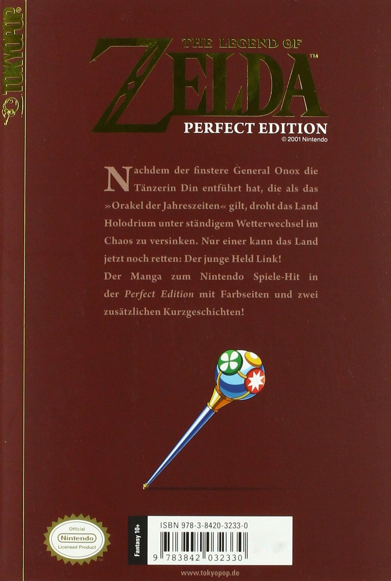 The Legend of Zelda - Perfect Edition 02: Oracle of Seasons / Oracle ...