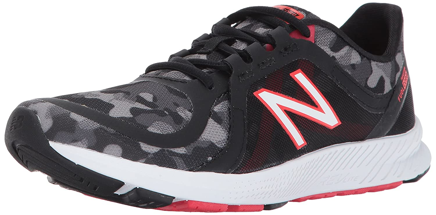 New Balance Women's 77V2 Cross-Trainer-Shoes B01NB9S2C0 9 B(M) US|Black/Camo Graphic