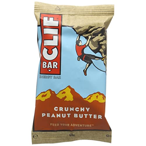 Clif Bar Energy Bar Crunchy Peanut Butter 68 g (Pack of 12)