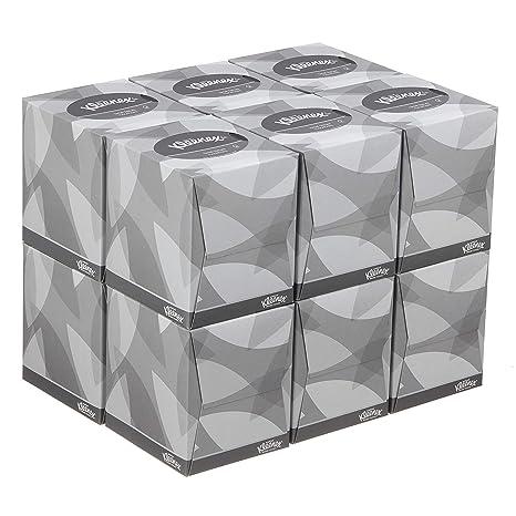 Kleenex 08834060 8834 Caja de Pañuelos Cúbicos, 12 Paquetes de 88 hojas, 2 Capas, Suaves y Resistentes, Sin Fragancia, Color: Blanco: Amazon.es: Industria, empresas y ciencia