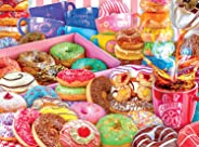 Buffalo Games - Collage Collection - Donut Worry, Be Happy! - 1000 Piece Jigsaw Puzzle