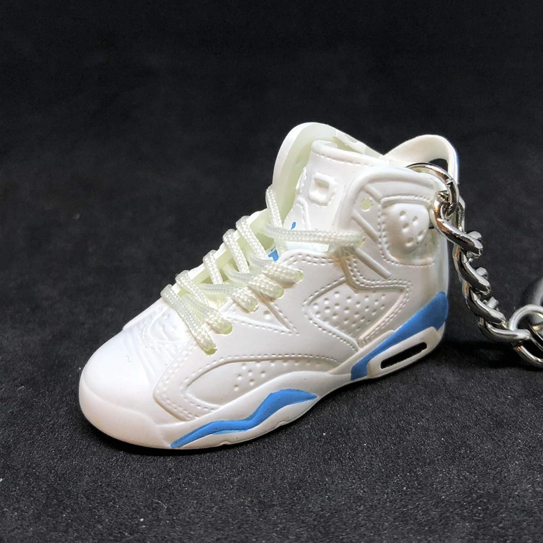 purchase cheap 86ad9 b5b37 Amazon.com: Air Jordan VI 6 Retro White UNC Blue OG Sneakers ...