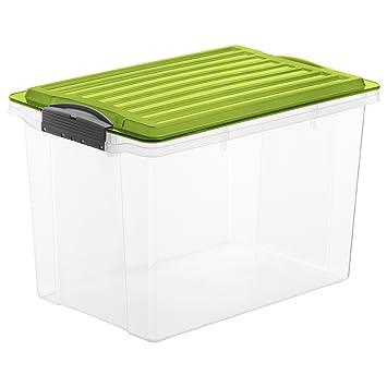 Rotho Aufbewahrungs Compact Transparent Mit Deckel Ingrun Lager Box