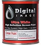 Projector Screen Paint - High Definition | 4K - Ultra White - Quart