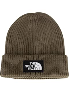 efd7c6857b7 THE NORTH FACE Tnf Logo Box Cuff Be Vintage White REGOS  Amazon.co ...