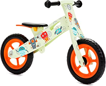 Nicko NIC863 Bicicleta de Equilibrio, Verde, Large, One Size: Amazon.es: Juguetes y juegos
