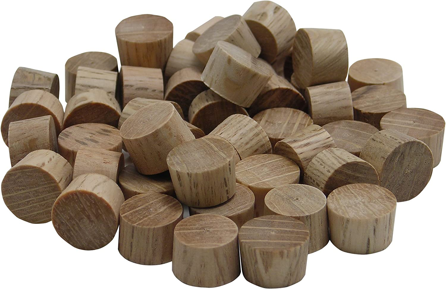 "10x Birch Wooden Toy Parts /""HEADLIGHTS/"""