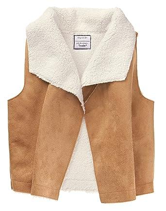 89069965e667 Amazon.com  Gymboree Girls  Little Shearling Vest  Clothing