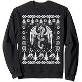 Dragon Ugly Christmas Fantasy Mystical Holiday Xmas Gift Sweatshirt