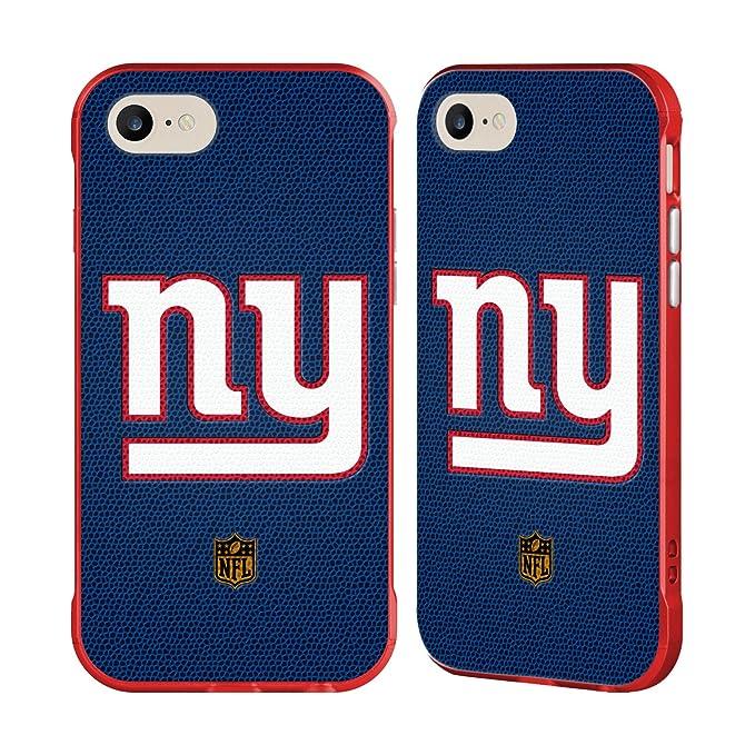 amazon com official nfl football new york giants logo red fender