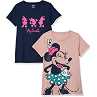 Amazon Essentials Mujer Disney Star Wars Marvel Camisetas con cuello redondo