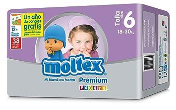 Moltex Premium Bolsa de Pa/ñales Desechables 38 Pa/ñales
