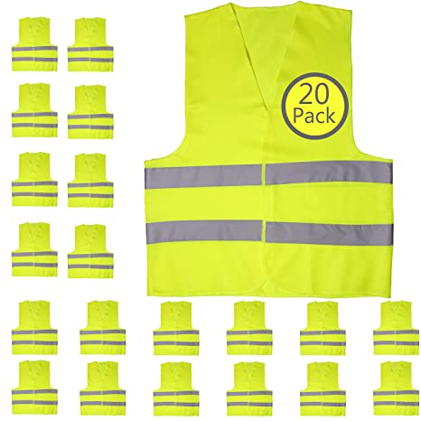 Safety Vest In Bulk