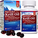 NatureMyst Krill Oil, 1250mg, Professional Grade 60 Liquid Softgels, Non-GMO, Gluten Free, Made in The USA