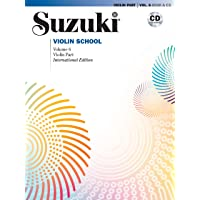 Suzuki Violin School Violin Part & CD, Volume