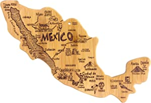 Totally Bamboo Mexico Destination Bamboo Serving and Cutting Board